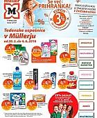 Muller katalog drogerija Tedenske uspešnice