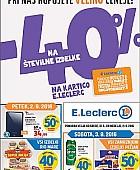 E Leclerc katalog Ljubljana do 11. 09.