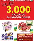 Spar in Interspar katalog do 06. 09.