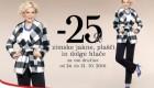 Mana akcija – 25 % na zimske jakne, plašče in dolge hlače