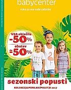 Baby Center katalog Sezonski popusti