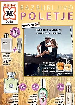 Muller katalog parfumerija do 29. 07.