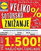 Lidl katalog Veliko šotorsko znižanje do 23. 06.