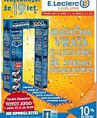 E Leclerc katalog Ljubljana do 23. 06.