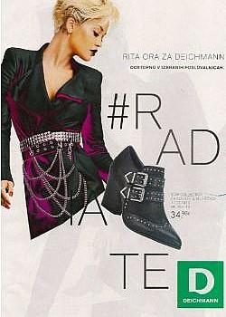 Deichmann katalog Rita Ora  jesen 2019