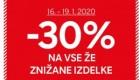 C&A akcija – 30 % na že znižano do 19. 1.