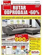 Rutar katalog Odprodaja do – 60 % do 25. 1.