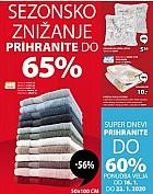 Jysk katalog Znižanje do 29.1.