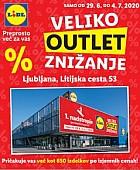 Lidl katalog Veliko outlet znižanje Ljubljana
