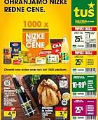 Tuš katalog trgovine in franšize do 27. 10.