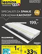Lesnina katalog Kakovost spanja do 6. 3.