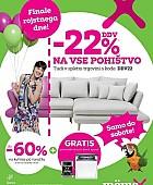 Momax katalog -22% DDV na vse pohištvo in do -60% na kuhinje