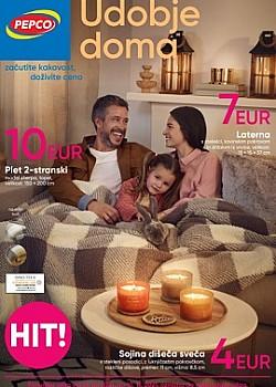 Pepco katalog Udobje doma