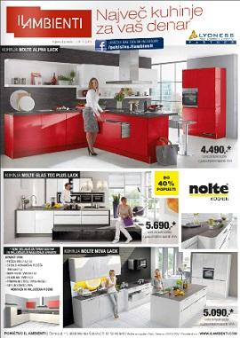 Il Ambienti katalog Največ kuhinje