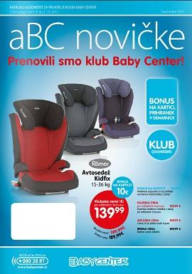 Baby center katalog ABC novičke september 2013