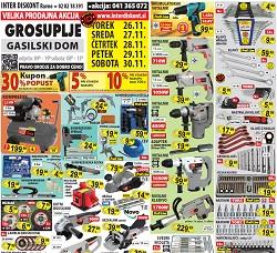 Interdiskont katalog Velika prodajna akcija Grosuplje