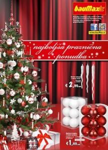 Baumax katalog Najboljša praznična ponudba do 22.12.2013