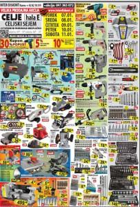 Interdiskont katalog Velika prodajna akcija Celje do 11.1.2014