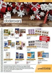 Pošta Slovenije katalog december 2013