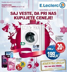 E Leclerc katalog Ljubljana