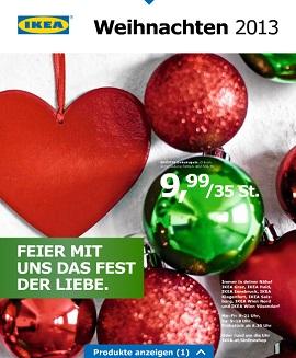Ikea katalog Božič