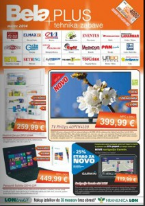 Bela Plus katalog marec 2014