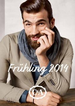 C&A katalog moška moda Pomlad 2014