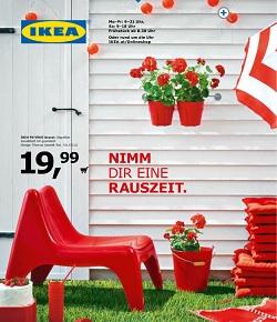 Ikea katalog Vrtno pohištvo 2014