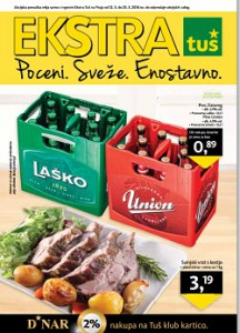 Tuš katalog Ekstra do 25.3.