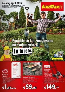 Baumax katalog april 2014