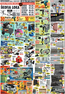 Interdiskont katalog marec 2014