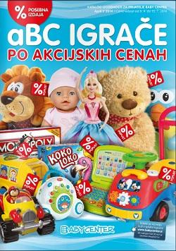 Baby Center katalog Igrače po akcijskih cenah