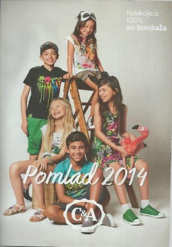 C&A katalog Pomlad 2014