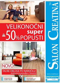 Salon Creatina katalog Velikonočni popusti 2014