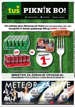 Tuš katalog trgovine in franšize do 29.4.