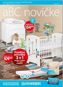 Baby Center katalog novičke junij 2 2014