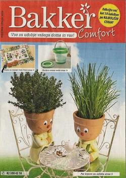 Bakker katalog Comfort poletna izdaja 2014