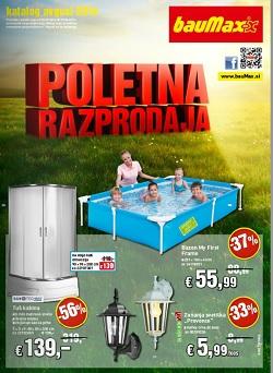 Baumax katalog Poletna razprodaja do 17. 8.