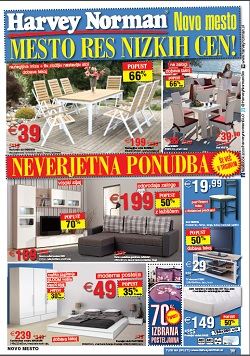 Harvey Norman katalog Novo mesto