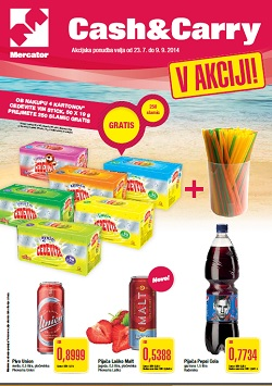Mercator katalog Cash&Carry do 9. 9.