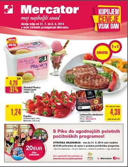 Mercator katalog Sosedove novice do 6. 8.