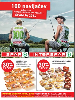 Spar in Interspar katalog od 17. 7.