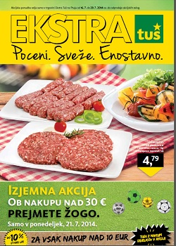 Tuš katalog Ekstra do 29. 7.