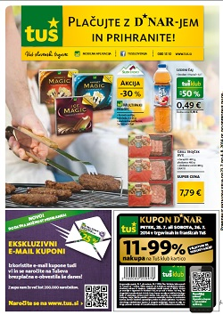 Tuš katalog trgovine in franšize do 4. 8.