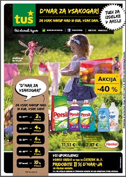 Tuš katalog trgovine in franšize do 5. 8.