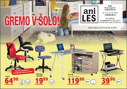 Aniles katalog Gremo v šolo