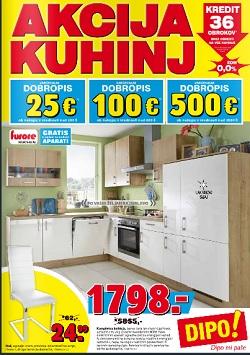 Dipo katalog Akcija kuhinj do 25. 8.