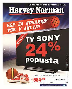 Harvey Norman katalog Pripravljeni na košarko