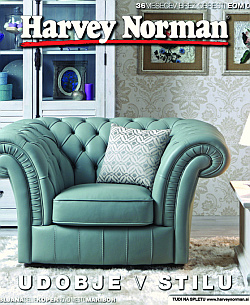 Harvey Norman katalog Udobje v stilu