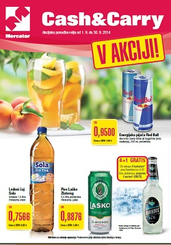Mercator katalog Cash&Carry september 2014